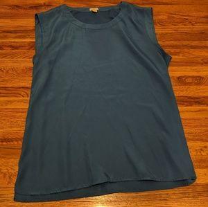 JCrew Silk Blouse XL